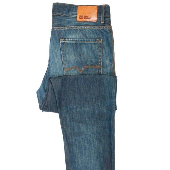 Hugo Boss Blue Orange31 Ocean Regular Fit Jeans 40